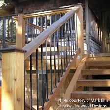 deck metal deck balusters aluminum spindles lowes deck railing