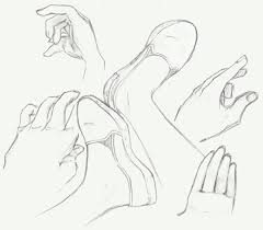 hands and feet sketches by crossacademy22 on deviantart