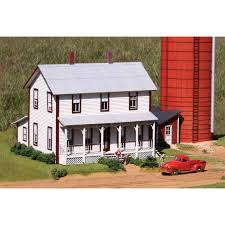 two farmhouse laserkit two farmhouse kit ho scale