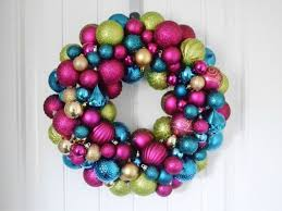 Christmas Home Decor Crafts Raise Your Home U0027s Curb Appeal With These 15 Ornament Wreaths
