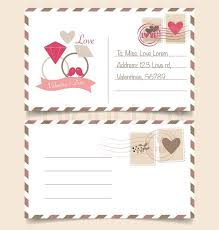 Stamps For Wedding Invitations Vintage Postcard Background And Postage Stamps For Wedding Card