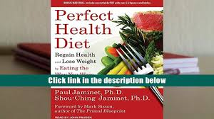 download perfect health diet regain health and lose weight by