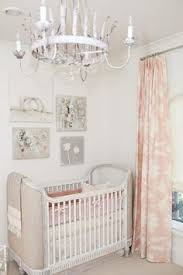 baby pink striped nursery nursery walls and project nursery