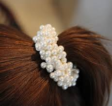 pearl hair accessories 2017 wholesale the newest fashion korea pearl hair accessories 18k