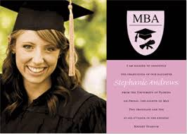 graduation announcement mba graduation invitations graduation announcements