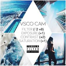 vscocam effects tutorial aesthetic beach blue bright edit editing effect feed filter