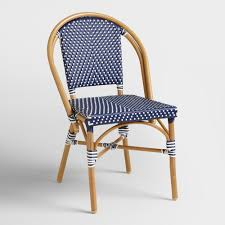 Wooden Bistro Chairs Chair French Bistro Chairs Made From Rattan With Wood Patern And