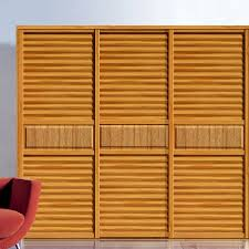 Exterior Wood Louvered Doors by Wood Wardrobe With Louvered Doors Wood Wardrobe With Louvered