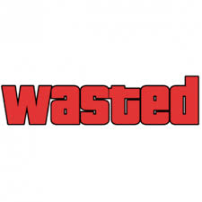 Wasted Meme - wasted gta transparent png stickpng