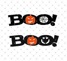 pumpkin face svg svg cut files for cricut and silhouette boo halloween svg files