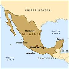 map of mexico with states health information for travelers to mexico traveler view