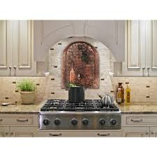 Kitchen Mural Backsplash Simple Kitchen Backsplash Accent Tiles Range Tile The Above Within