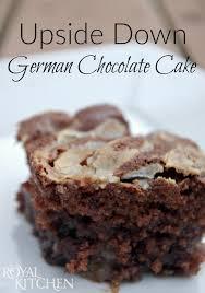 upside down german chocolate cake consumerqueen com oklahoma u0027s