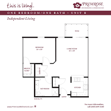 Patio Unit Apartment Sizes And Floor Plans For Cheyenne Wy Primrose