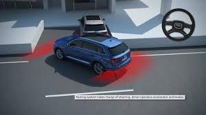 audi a7 parking audi q7 park assist audi technology portal
