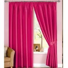 Amazon Kitchen Curtains by Cerise Pink Curtains Lined Faux Silk 46 U0027 U0027 X 72 U0027 U0027 Amazon