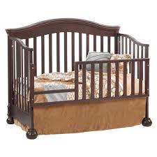 Walnut Nursery Furniture Sets by Natart Avalon 4 In 1 Convertible Crib In Walnut Free Shipping
