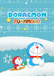 download themes doraemon doraemon fluffy line theme line store