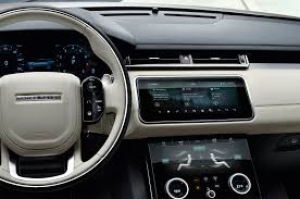 original range rover interior 2018 land rover range rover velar first look