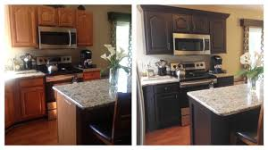 how to paint laminate cabinets without sanding best self leveling paint painted bathroom cabinets before and after