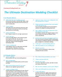 preparation of event plan for wedding the best destination wedding checklist destination wedding details