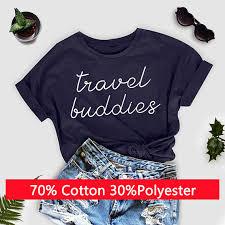 Travel Buddies images Travel buddies t shirt casual wanderlust vacation shirt matching jpg