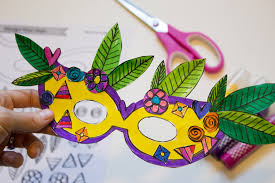 diy mardi gras mask diy mardi gras masks with printable made it