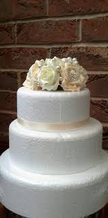 creative wedding cake toppers glass flowers cake and wedding cake