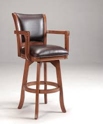wooden bar stools with backs that swivel bar stools woodenwivel bartools with backs remarkable image