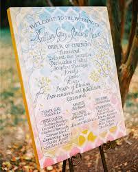 program wedding 44 wedding ceremony programs martha stewart weddings