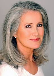 long grey hair styles for women over 50 pretty hairstyles for salt and pepper hairstyles best ideas about