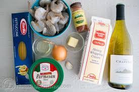 creamy shrimp alfredo fettuccine pasta recipe natasha u0027s kitchen