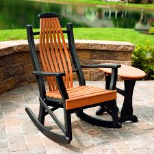 Chair Furniture Amish Outdoor Rocking Amish Poly Woodland Rocker Amish Poly Collections
