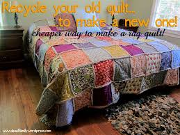 king size rag quilt spoonful of imagination