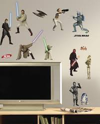 amazon roommates rmk scs star wars episodes thru peel from the manufacturer star wars wall decals