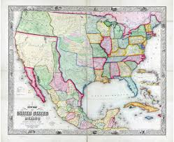 Map Of The United States And Mexico by Maps Of Mexico Detailed Map Of Mexico In English Tourist Map