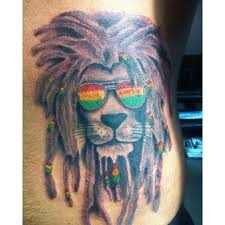 morrissey u0027s tattoo couture u2022 rastafarian lion by james at