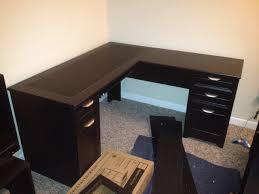 L Shaped Desk Hutch by Sauder Desk Hutch Bookcase Assembly Dunedin Carter Assembly