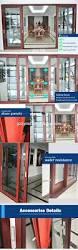 aluminium glass two leaves door price in india house main door