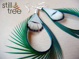 how to make feather earrings with loving feather earrings by still tree sparkleshock