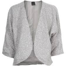 silver cardigan sweater ella moss glitter silver sequined bolero cardigan polyvore
