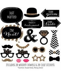 Wedding Photo Props Don U0027t Miss This Deal On Mr U0026 Mrs Gold Wedding Photo Booth