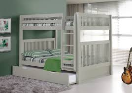 Bunk Bed With Trundle Camaflexi Bunk Bed With Trundle Mission