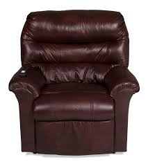 Klaussner Recliners Channing Power Lift Chair Brown Levin Furniture