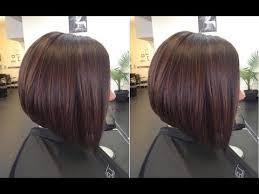 graduation bob hairstyle how to cut graduated bob haircut tutorial step by step