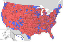 Map Election by America Is Still A U0026 39red U0026 39 Nation Election Map 2008