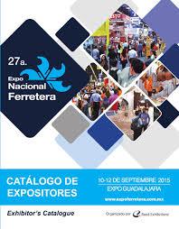 catálogo de expositores 2015 expo nacional ferretera by reed
