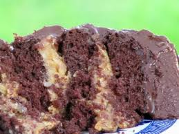 once upon a chocolate life inside out german chocolate cake