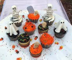 easy halloween cupcake decorations cakecentral com