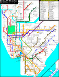 Nyc Metro Map by Calcagno Fantasy Sub Rus4 Gif